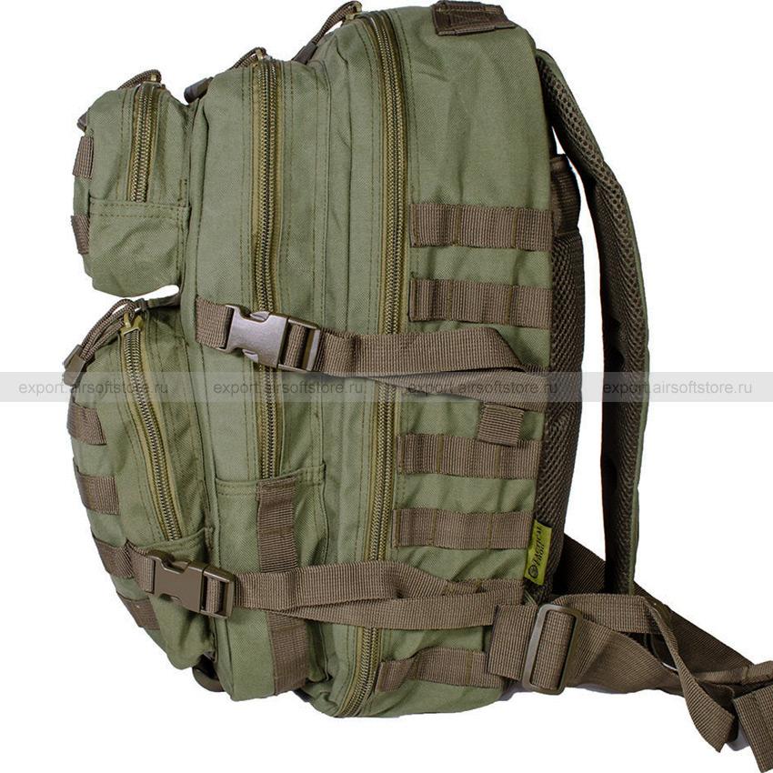 """Backpack """"Assault"""" 50 liter (Tactical Frog) (Olive"""