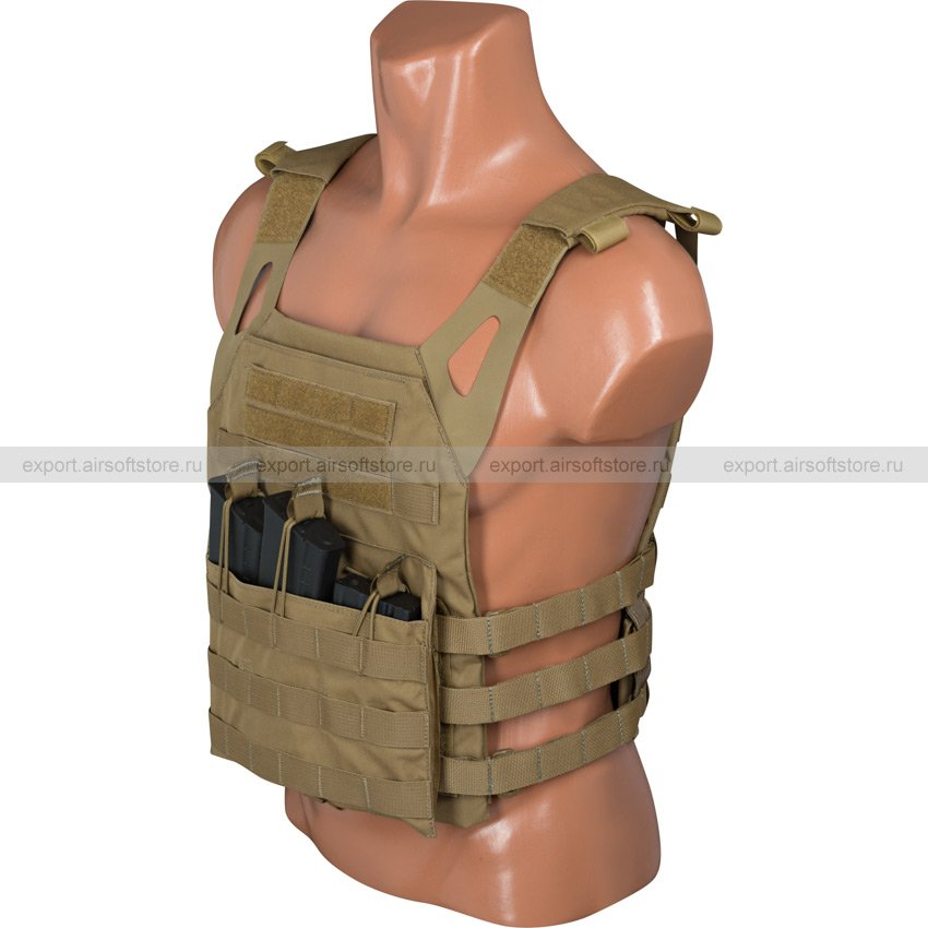 Plate carrier JPC (Ars Arma) (Coyote Brown)