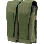 "AK mag pouch ""A-18 Slot"" (double) (Ars Arma) (Olive)"