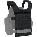 "Back module for ""Alpha"" vest (ANA) (Black)"