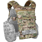 "Back module for ""Alpha"" vest (ANA) (Multicam)"