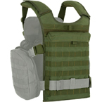 "Back module for ""Alpha"" vest (ANA) (Olive)"