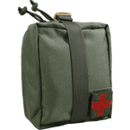 Detachable medical pouch (WARTECH) (Olive)