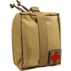 Detachable medical pouch (WARTECH) (Coyote Brown)