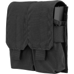 Double M4/M16 mag pouch (Ars Arma) (Black)