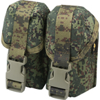 Double hand-grenade pouch with fastex buckle (ANA) (Russian pixel)