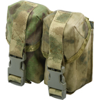 Double hand-grenade pouch with fastex buckle (ANA) (A-TACS FG)