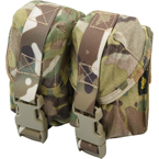 Double hand-grenade pouch with fastex buckle (ANA) (Multicam)