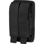 Double pistol magazine pouch (Stich Profi) (Black)