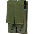 Double pistol mag pouch (Ars Arma) (Olive)