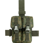 Drop leg platform with double AK mag pouches (Azimuth SS) (Russian pixel)