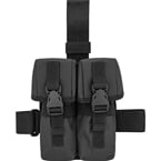 Drop leg platform with double AK mag pouches (Azimuth SS) (Black)