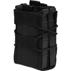 Fast double mag pouch (Stich Profi) (Black)