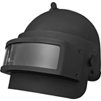 K6-3 Helmet with visor (replica) (Gear Craft) (Black)