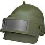 Helm K6-3 mit Sichtglas (Replik) (Olivengrün)