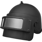 K6-3 Helmet with visor (replica) (BASTION) (Black)