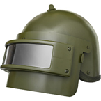 K6-3 Helmet with visor (replica) (BASTION) (Olive)