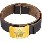 Leather waist belt RPS-01-10,