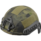 Ops-Core / Fast Carbon Mesh Helmet cover (East-Military) (Moss)