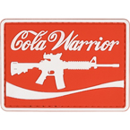 "Patch ""Cola Warrior"", PVC, 7 x 5 cm"