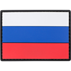 "Patch ""Russian flag"", PVC, 7 x 5 cm"