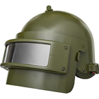 Rys-T (Lynx-T) Helmet with visor (replica) (BASTION) (Olive)
