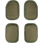 Set of top and bottom shock absorbing pads (WARTECH) (Olive)