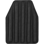 Shock absorbing pad for body armor (ANA) (Black)