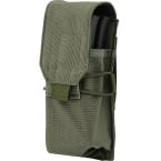 Single AK/RPK pouch for 2 mags (WARTECH) (Olive)