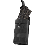Single AK, M4/M16 series mag pouch w/ Bungee (WARTECH) (Black)