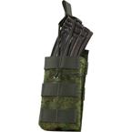 Single AK, M4/M16 series mag pouch w/ Bungee (WARTECH) (Russian pixel)