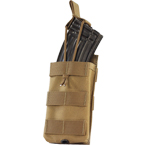 Single AK, M4/M16 series mag pouch w/ Bungee (WARTECH) (Coyote Brown)