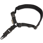 Single point sling with QD fastex (WARTECH) (Black)