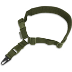 Single point sling with QD fastex (WARTECH) (Olive)