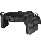Tactical MOLLE belt with pouches (Azimuth SS) (Black)
