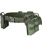 Tactical MOLLE belt with pouches (Azimuth SS) (Olive)