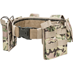 Tactical MOLLE belt with pouches (Azimuth SS) (Multicam)