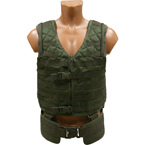 Tactical vest MOLLE with belt (Azimuth SS) (Olive)