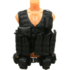 "Tactical vest ""Tank"", version 2 (Sotnik) (Black)"