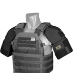 Universal shoulder protection (Ars Arma) (Black)