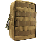 Vertical utility pouch (WARTECH) (Coyote Brown)