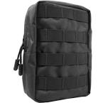 Vertical utility pouch (WARTECH) (Black)