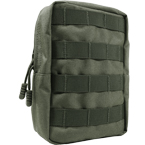Vertical utility pouch (WARTECH) (Olive)