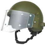 ZSh-1-2MR Helmet with visor (replica) (Gear Craft) (Olive)