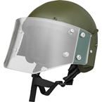 ZSh-1-2M Helmet with visor (replica) (Gear Craft) (Olive)