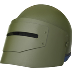 """Mask-1Sch"" Helmet with visor (replica) (Gear Craft) (Olive)"