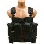"Combat vest ""Turtle"" (Sotnik) (Black)"